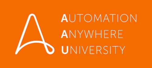 Automation Anywhere University