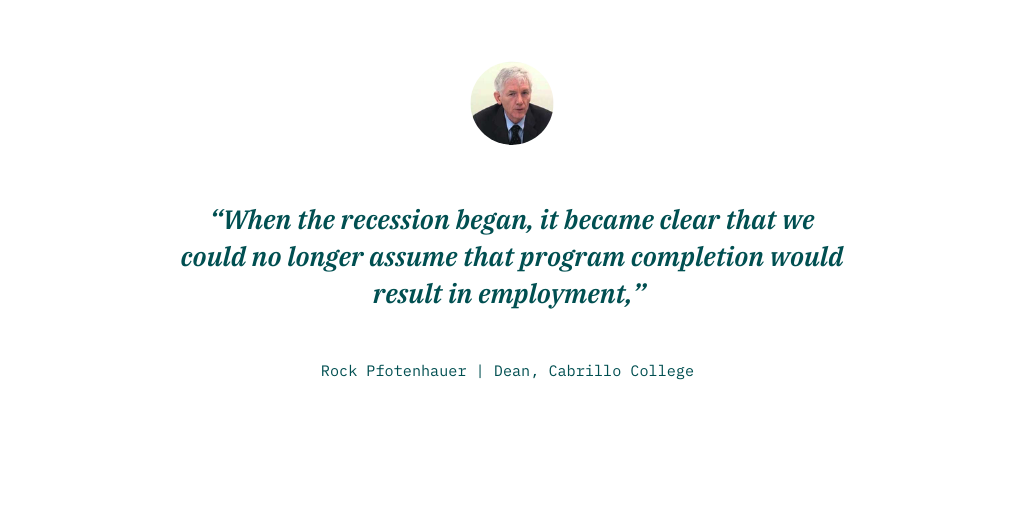 rock pfotenhauer quote recession program