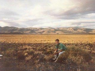 Doug in Patagonia
