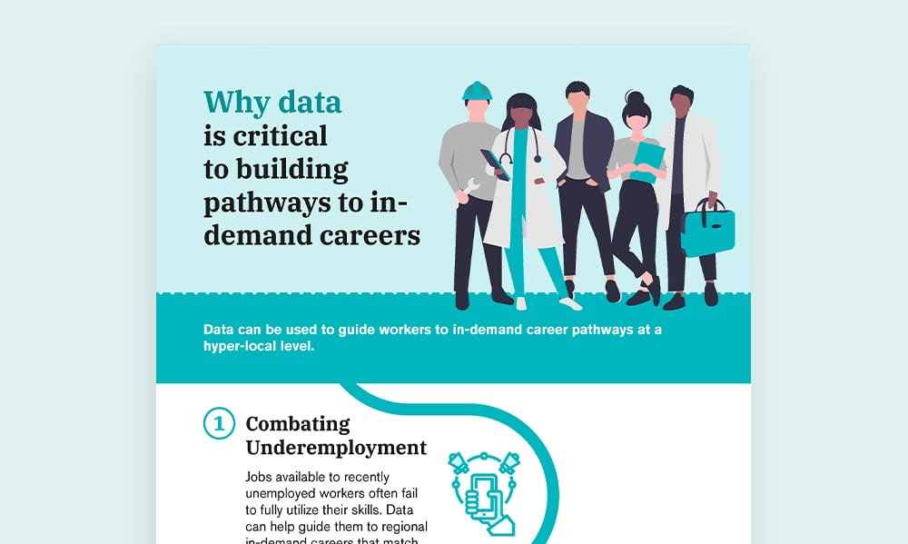 Why data is critical to building pathways to indemand careers - thumbnail